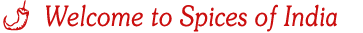 welcome to the spices world!